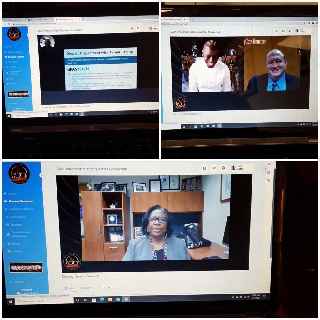 My view of the virtual State Education Convention
